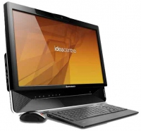 "Lenovo IdeaCentre B300 2.66GHz E6700 20"" 1920 x 1080Pixel Touch screen Nero"