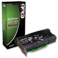 CLUB3D GeForce GTX 460 GeForce GTX 460 GDDR5