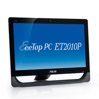 "ASUS EeeTop PC ET2010P 1.66GHz 20"" 1600 x 900Pixels Touch screen Nero"