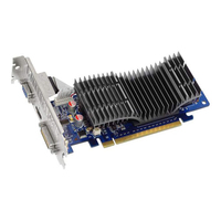 ASUS EN210 SILENT/DI/512MD2(LP) GeForce 210 GDDR2 scheda video