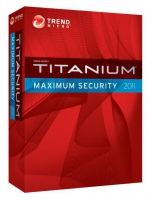 Trend Micro Titanium Maximum Security 2011, 3u, 1y, DUT, FRE 3utente(i) 1anno/i Francese