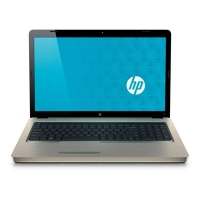 "HP G G72-b60EB Notebook PC 2.26GHz i3-350M 17.3"" 1600 x 900Pixel Oro"