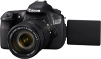 Canon EOS 60D + 18-55mm IS + EF 55-250mm IS Kit fotocamere SLR 18MP CMOS 5184 x 3456Pixel Nero