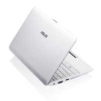 "ASUS 1001PX-WHI116S 1.66GHz N450 10.1"" 1024 x 600Pixel Bianco Netbook netbook"