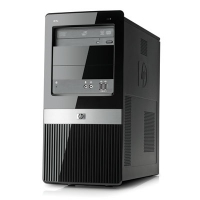 HP Pro 3120 MT 2.93GHz E7500 Mini Tower Nero PC