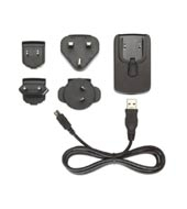 HP iPAQ Mini-USB AC Adapter Nero
