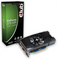 CLUB3D CGNX-TS45024 GeForce GTS 450 1GB GDDR5 scheda video