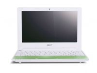 "Acer Aspire One One Happy Lime-2DQgrgr 1.66GHz 10.1"" 1024 x 600Pixel Verde Netbook"