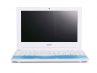 "Acer Aspire One One Happy Blue-2DQb3b 1.66GHz 10.1"" 1024 x 600Pixel Blu Netbook"