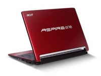 "Acer Aspire One one 533 1.66GHz N455 10.1"" 1024 x 600Pixel Rosso Netbook"