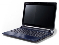"Acer Aspire One One D250 1.6GHz N270 10.1"" 1280 x 720Pixel Rosso Netbook"