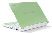 "Acer Aspire One HAPPY-2DQgrgr 1.66GHz N450 10.1"" 1024 x 600Pixel 3G Verde Netbook"