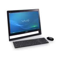"Sony VAIO VPCJ12M1E 2.4GHz i3-370M 21.5"" 1920 x 1080Pixel Touch screen Nero PC All-in-one"