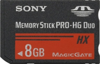 Sony 8GB Memory Stick PRO-HG Duo 8GB memoria flash