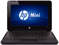 "HP Mini 110-313sl 1.66GHz N455 10.1"" 1024 x 600Pixel Netbook"