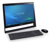 "Sony VAIO VPCJ12J9E 2.4GHz i3-370M 21.5"" 1920 x 1080Pixel Touch screen Nero PC All-in-one"