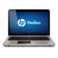 "HP Pavilion dv7-4140ed Entertainment Notebook PC 2GHz N930 17.3"" 1600 x 900Pixel Alluminio"