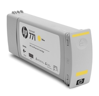 HP 771 3-pack 775-ml Yellow Designjet Ink Cartridges Giallo cartuccia d