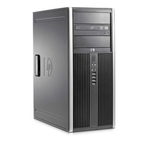 HP Compaq Elite 8000 3.16GHz E8500 Mini Tower Nero PC