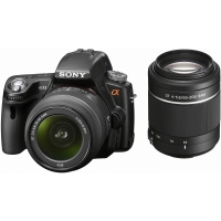 Sony SLT-A33Y Kit fotocamere SLR 14.2MP CMOS 4592 x 3056Pixel Nero digital SLR camera