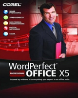 Corel WordPerfect Office X5 Professional, WIN, FRE Francese