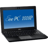 "ASUS Eee PC 1018P 1.5GHz N550 10.1"" 1024 x 600Pixel Nero Netbook"