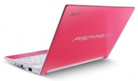 "Acer Aspire One Happy Pink 1.66GHz N450 10.1"" 1024 x 600Pixel Rosa Netbook"