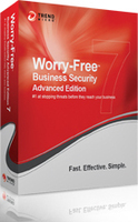 Trend Micro Worry-Free Business Security 7 ADV, Win, Mac, ML, Ren 25utente(i) 1anno/i Multilingua