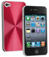 Cellularline Disco for iPhone 4 Rosso