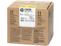 HP 3M LX600 3-liter Yellow Latex Specialty Ink Cartridge Giallo cartuccia d
