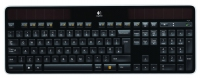 Logitech K750 RF Wireless QWERTY International North Sea Nero tastiera