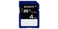 Sony 4GB SDHC Class 4 4GB SDHC memoria flash