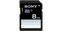 Sony 8GB SDHC Class 4 8GB SDHC memoria flash