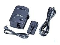 Canon Battery Charger/220V Li-Ion f Camcorder Nero adattatore e invertitore