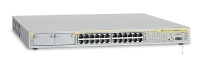 Allied Telesis 10/100TX x 24 ports PoE Fast Ethernet Layer 2+ Switch Gestito L2 Supporto Power over Ethernet (PoE) 1U
