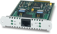 Allied Telesis Basic Rate ISDN (S) Port Interface Card scheda di interfaccia e adattatore