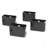 APC Vertical Cable Containment Brackets, NetShelter SX (Qty. 4) Nero rack