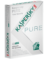 Kaspersky Lab Kaspersky PURE, 3u, 1y, Base, Box, Benelux Edition Base license 3utente(i) 1anno/i Tedesca, Francese