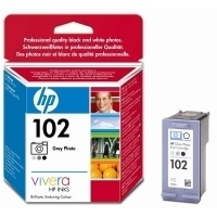 HP 102 Grey Photo Inkjet Print Cartridge with Vivera Inks Grigio scuro cartuccia d