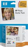 HP 343 Series Photo Starter Pack