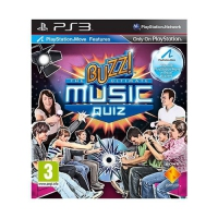 Sony Buzz!: The Ultimate Music Quiz PlayStation 3 videogioco
