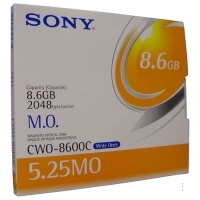 "Sony 8.6GB Magneto Optical (WORM) 8627MB 5.25"" disco ottico-magnetico"