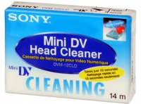 Sony DVM12CLD MiniDV cleaning cassette in Blister CD