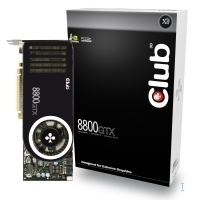 CLUB3D CGNX-X8868 GeForce 8800 GTX GDDR3 scheda video
