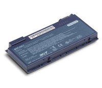 Acer Battery LI-ION 8-cell 4S2P 4800mAh TM6410/TM6460 (Option) Ioni di Litio 4800mAh batteria ricaricabile