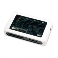 Macally USB2.0 3 ports hub & 8 in 1 card reader, UK AC adaptor lettore di schede