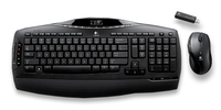 Logitech Cordless Desktop MX3200 RF Wireless Nero tastiera