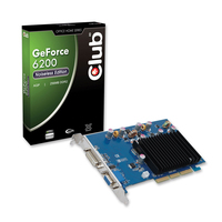 CLUB3D CGN-626 GeForce 6200 GDDR2 scheda video