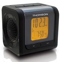 Thomson Clock radio CP202 Orologio Analogico Nero radio