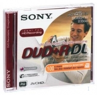 Sony Media DVD 2.6GB DVD+R DL